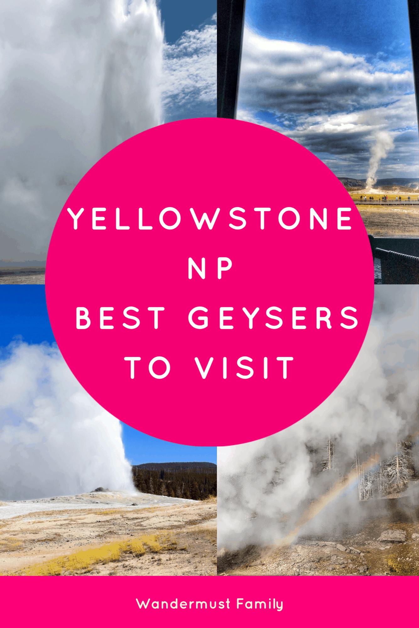 Best Geysers in Yellowstone. The Best Yellowstone Geysers - a list of the ultimate Yellowstone attractions - geyser edition including Old Faithful! #yellowstone #yellowstonenp #yellowstonenationalpark #visitingyellowstone #oldfaithful #yellowstonegeysers #geysers