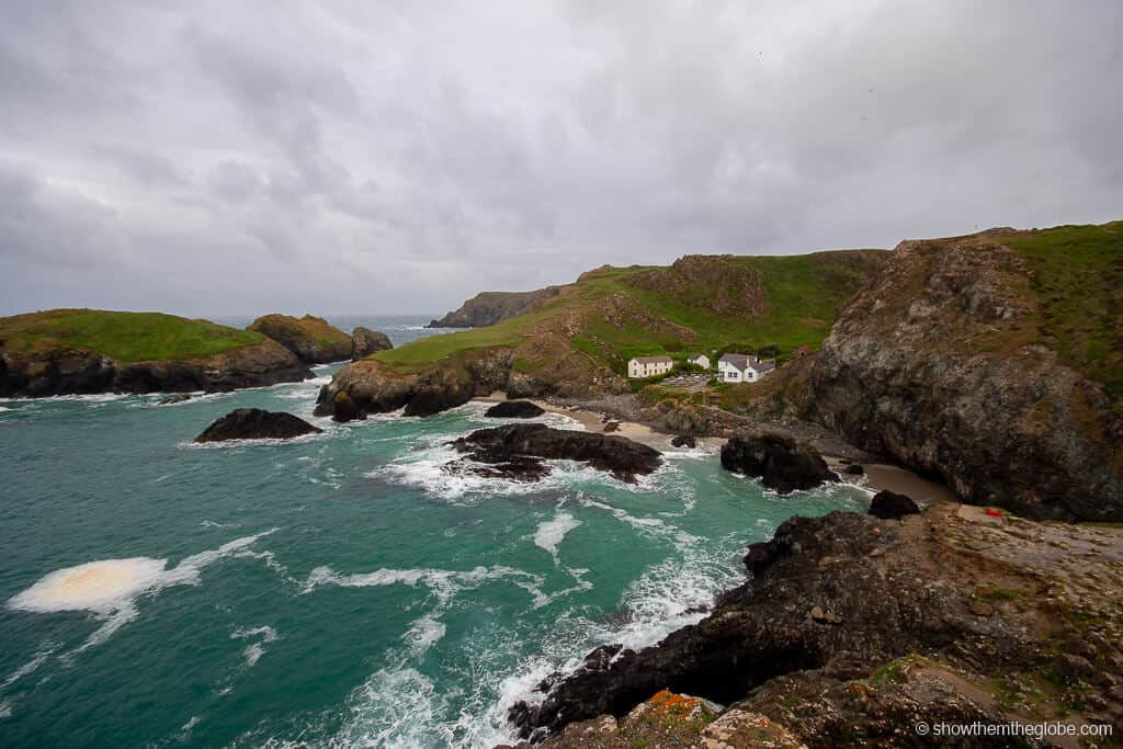 Kynance Cove - one of the best beaches in cornwall
