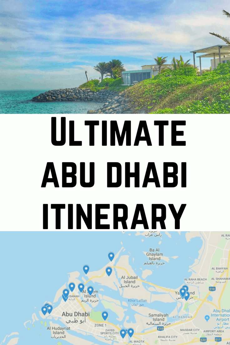 Ultimate Abu Dhabi Itinerary - How to Spend One Week in Abu Dhabi - a week #abudhabi #uae #visitabudhabi #louvre #beaches #dubai
