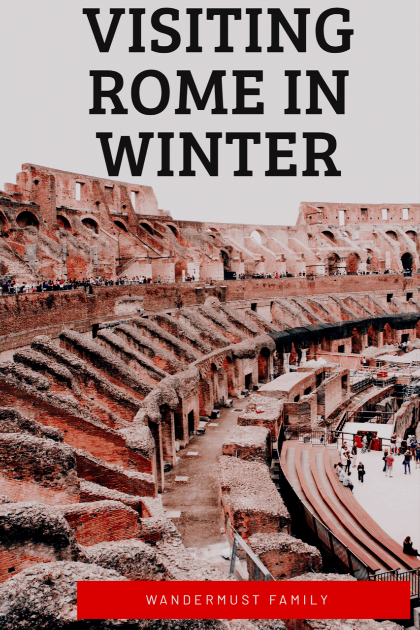 Best Things to Do in Rome including Rome Winter Itinerary #rome #wintertravel #christmastravel #romeitaly #italy #romewinter #besthingstodoinrome