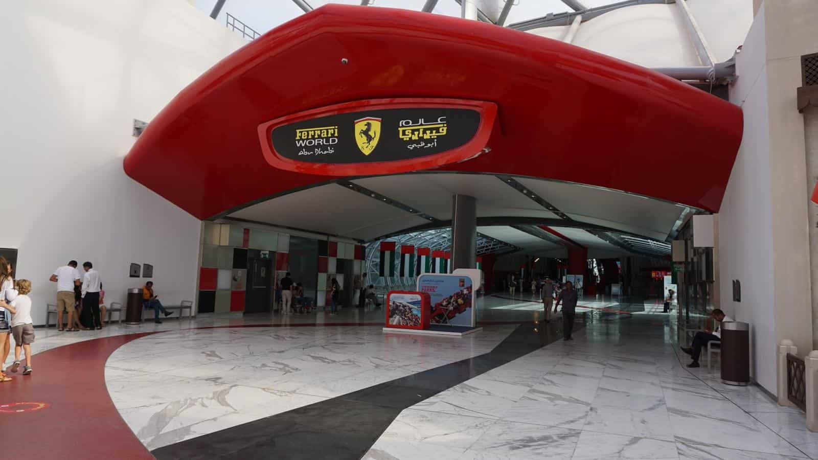 Ultimate Abu Dhabi Itinerary - Visiting Ferrari World