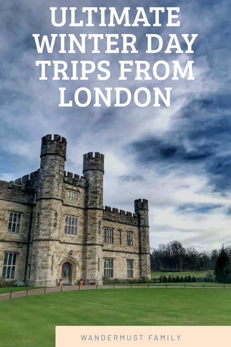 Best Winter Day Trips to Take from London! Best day trips to take from london in winter #london #londontravel #visitlondon #londondaytrip #uktravel