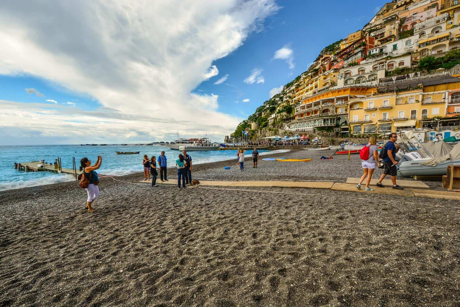 Best Positano Beaches with Kids