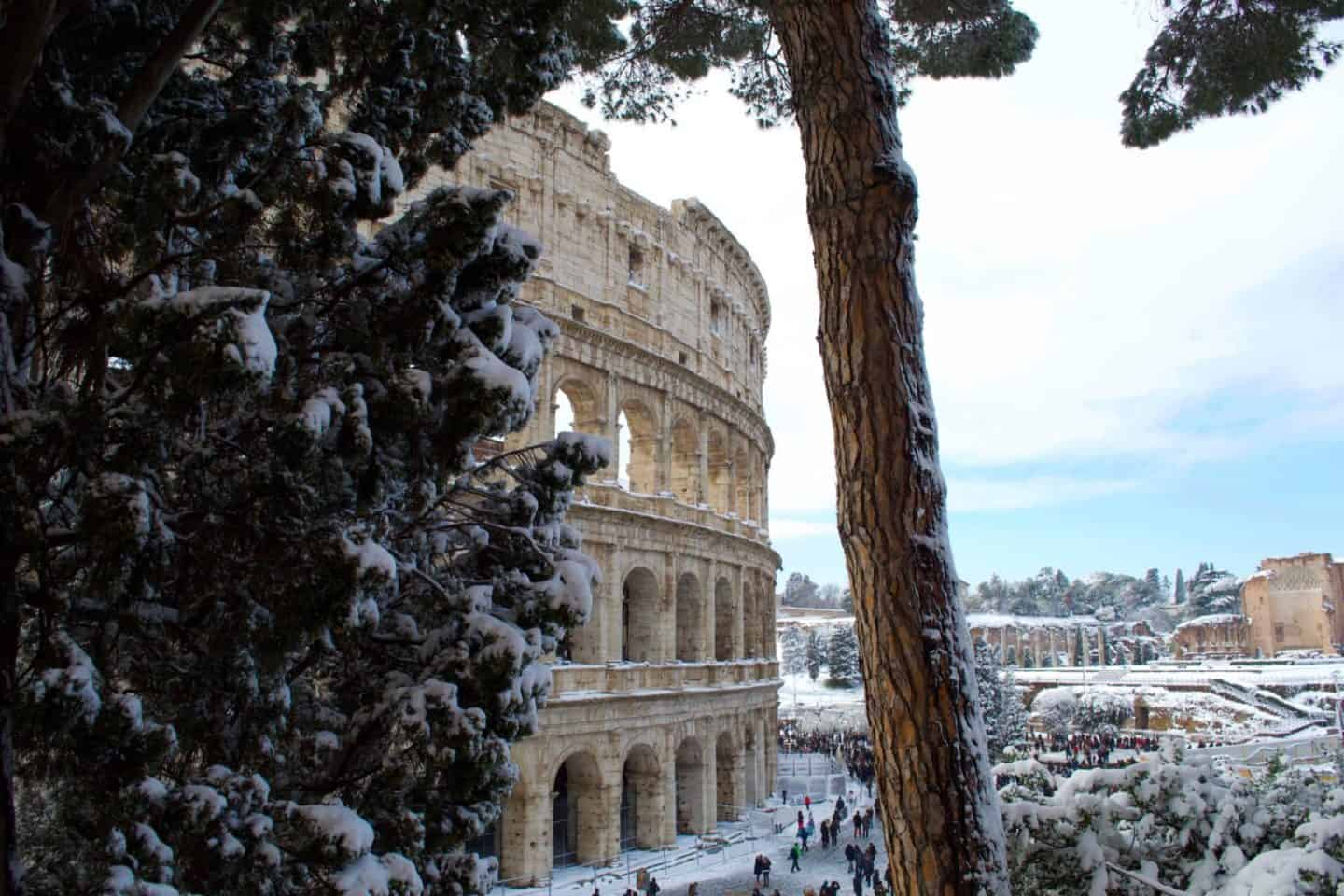 Visiting Rome in the Winter Itinerary