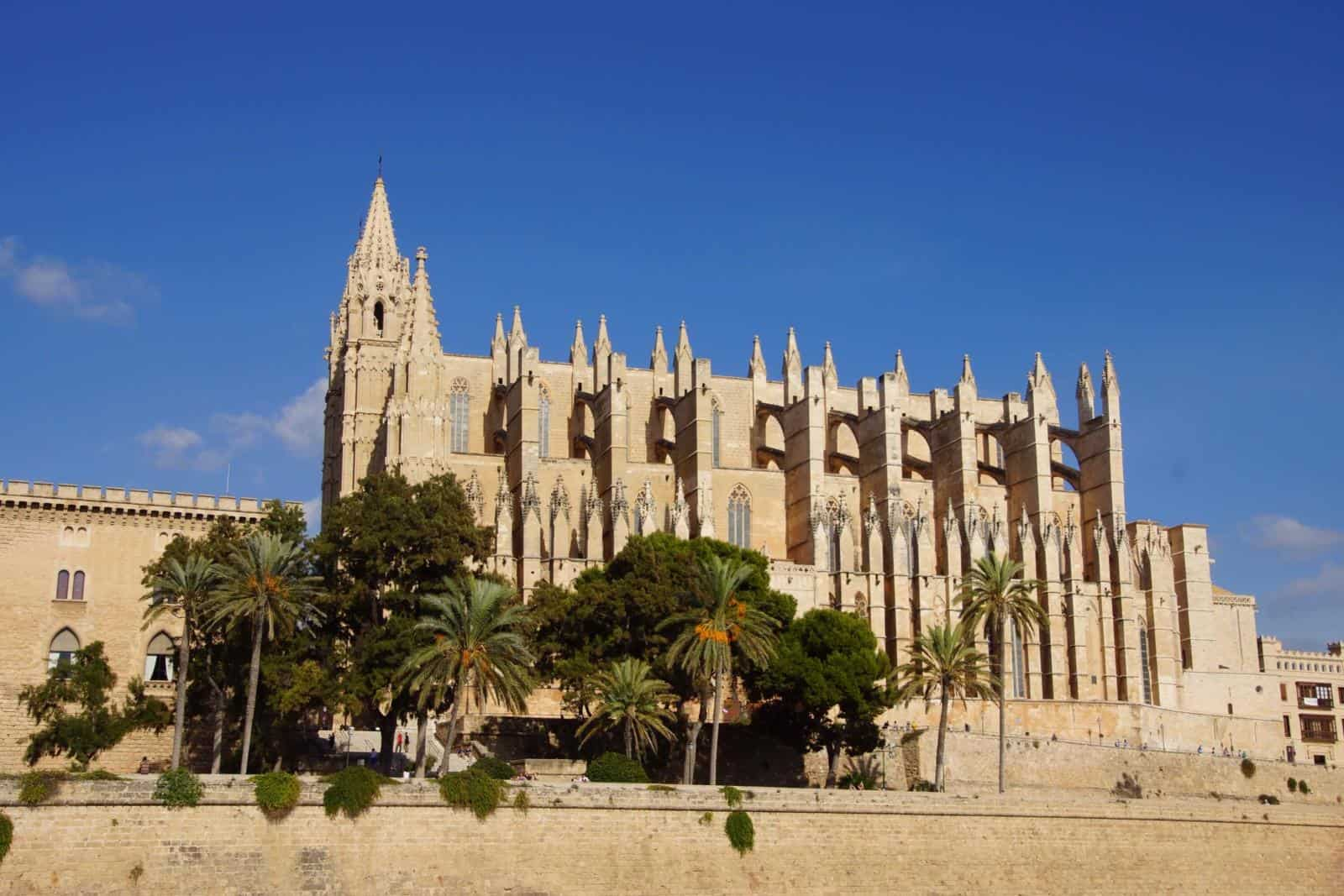 Best European Babymoon Destinations for Winter Babymoons - view of Palma