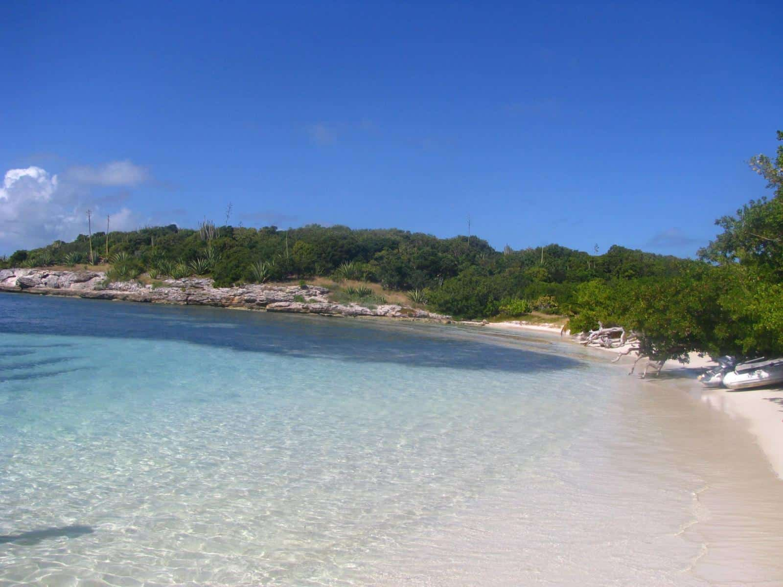 Antigua _ Great Bird Island - Best Winter Babymoon Destinations in the Caribbean