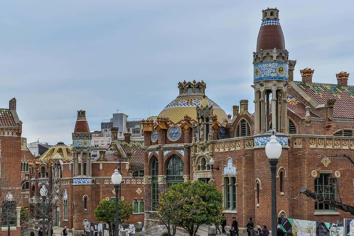 Hospital Sant Pau - a Barcelona Hidden Gem
