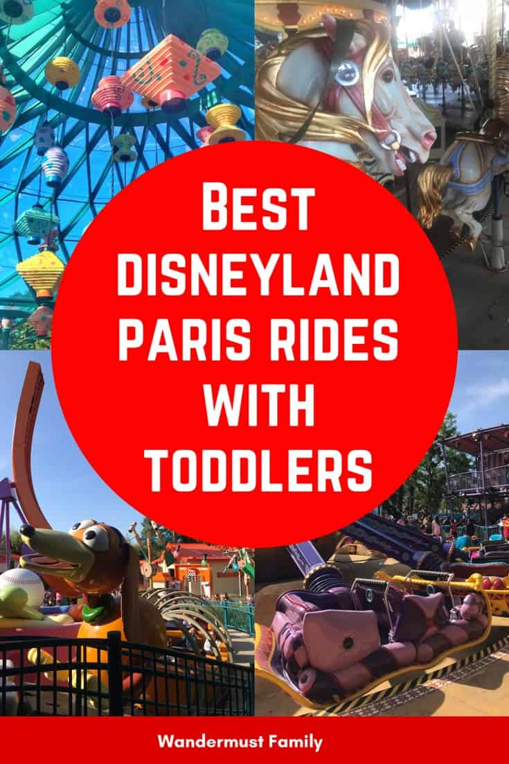 Disneyland Paris for toddlers including the best Disneyland Paris rides for toddlers
