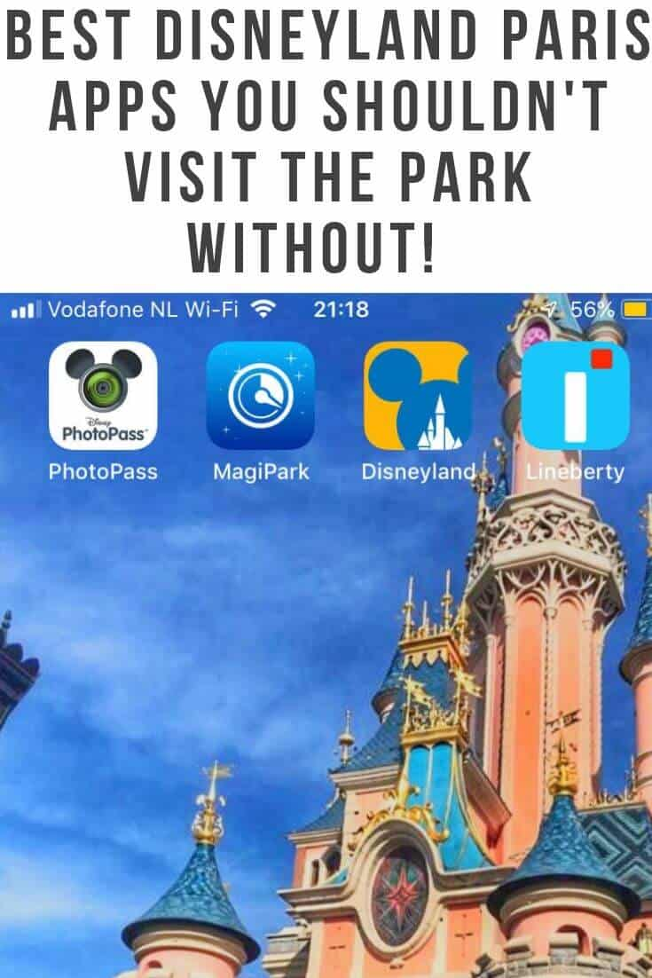 Planning a Trip to Disneyland Paris - Then you Need These Disneyland Paris Apps