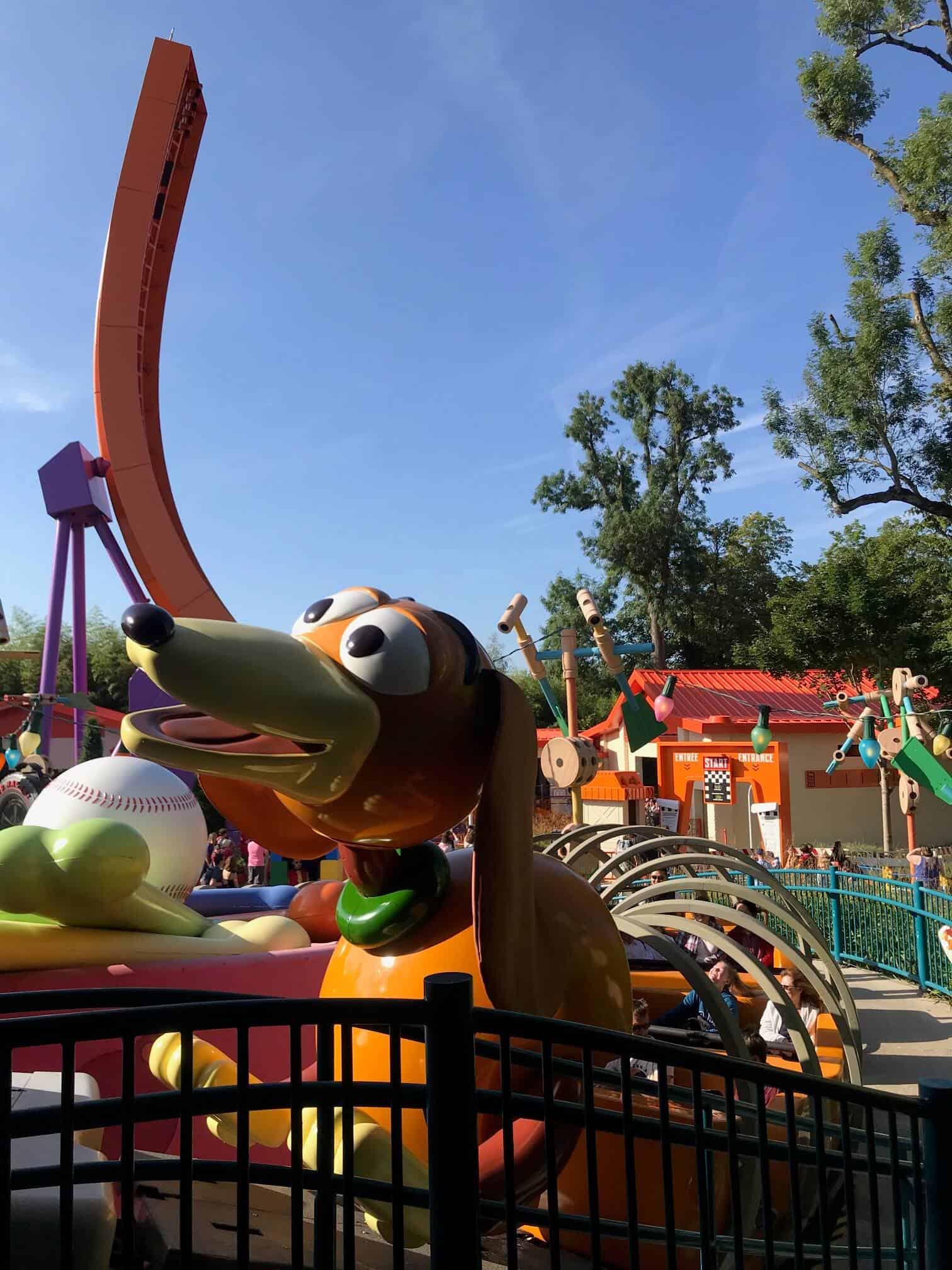 Slinky Dog Coaster - Best Things to do at Disneyland Paris Bucket List