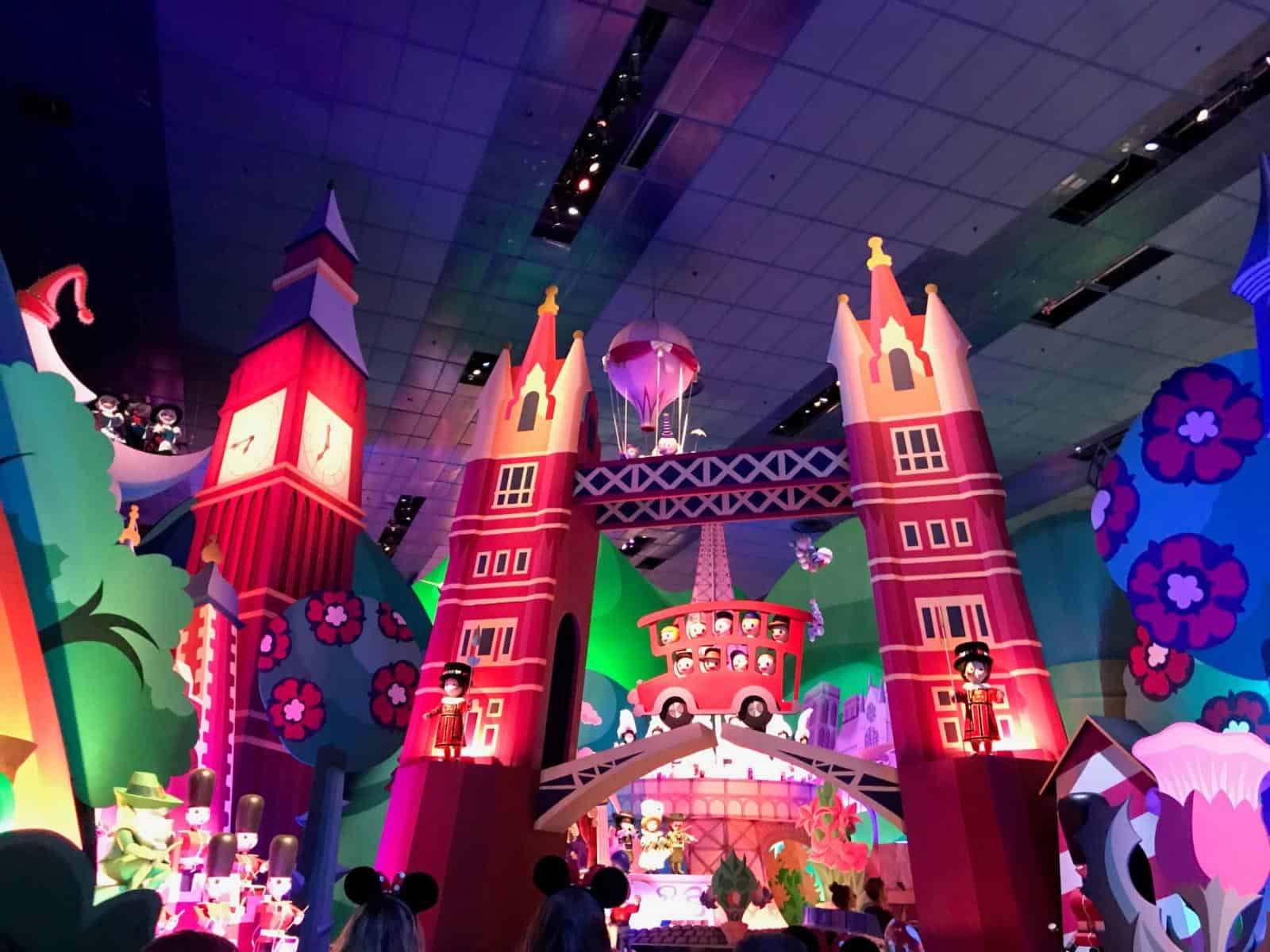 Best disneyland rides for toddler - including It's a Small world fantasyland rides for toddlers