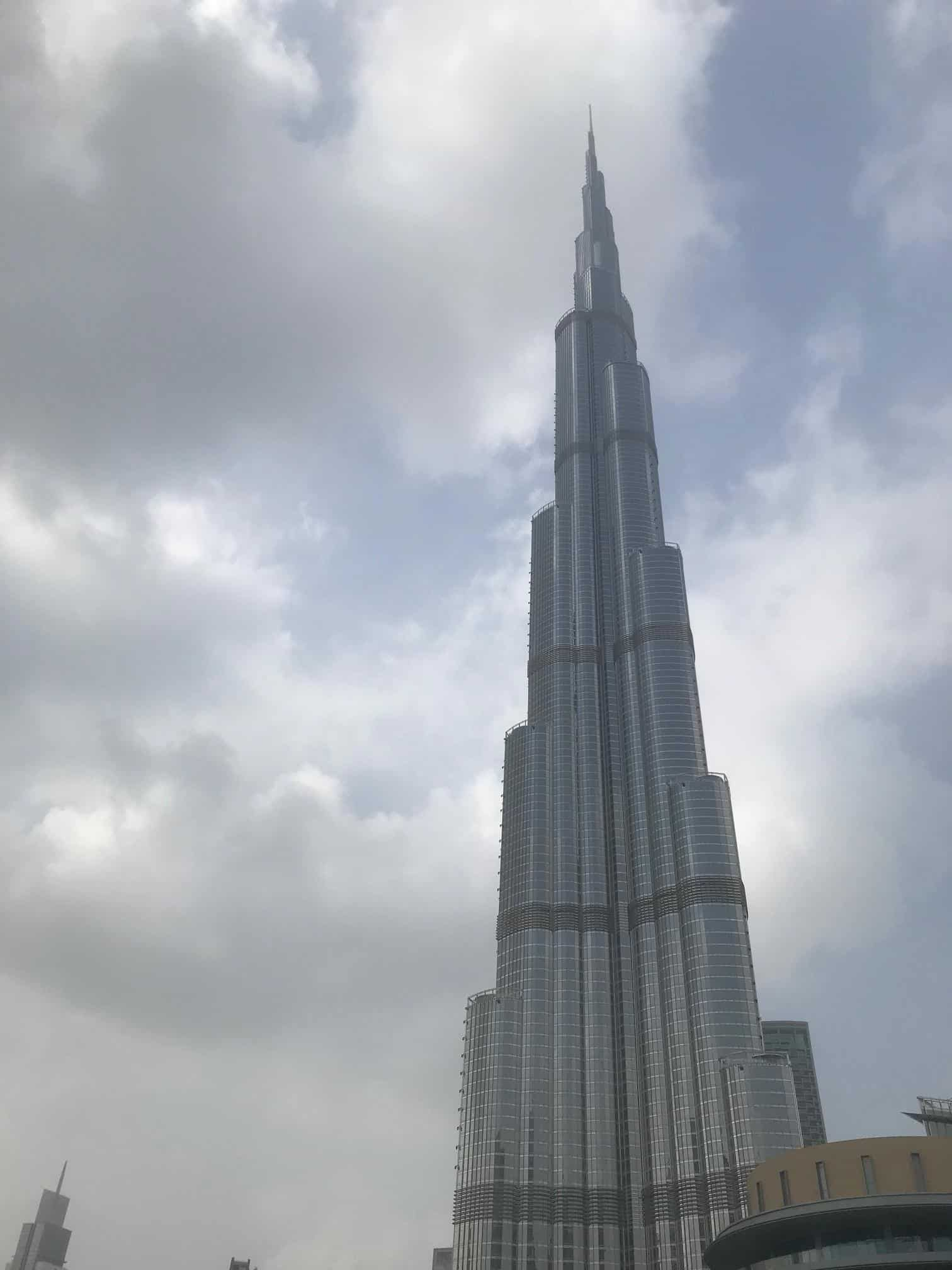 See the Burj Khalifa on your Babymoon in Dubai - one of the best things to do at Dubai Mall