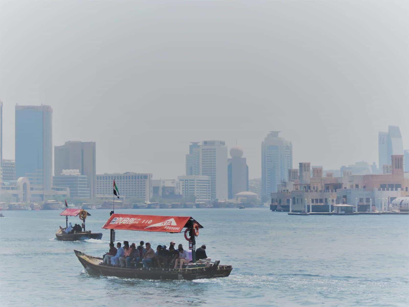 Abra on Dubai creek - best things to do in Dubai Bucket List