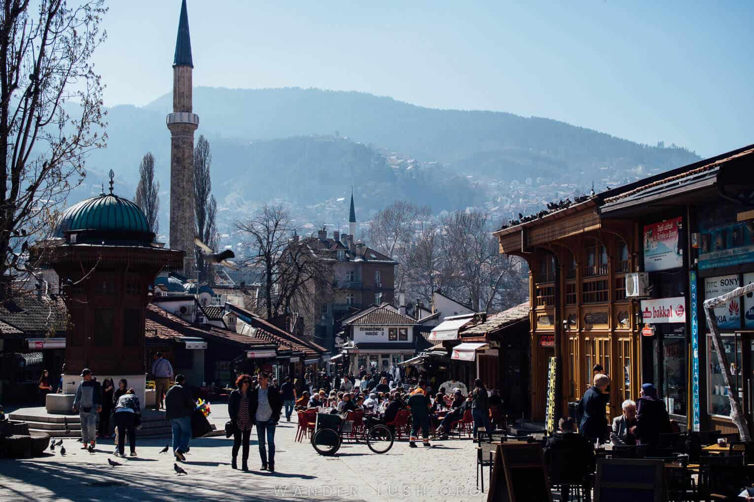 Best European Cities to Visit in March - Bosnia in March