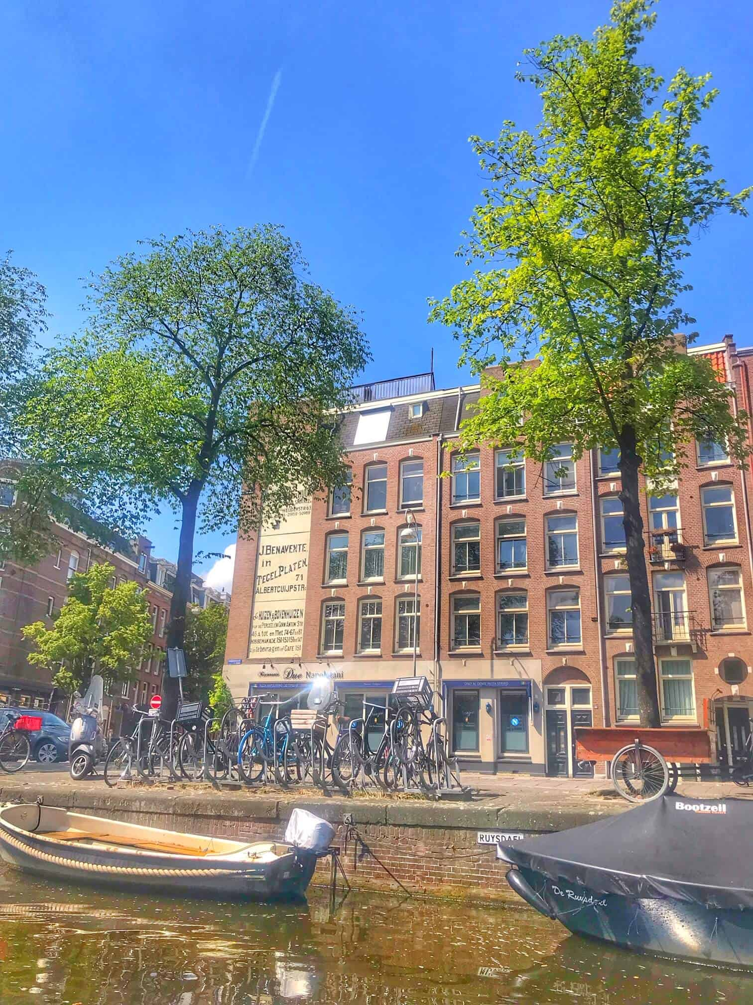 Visiting Amsterdam in Spring