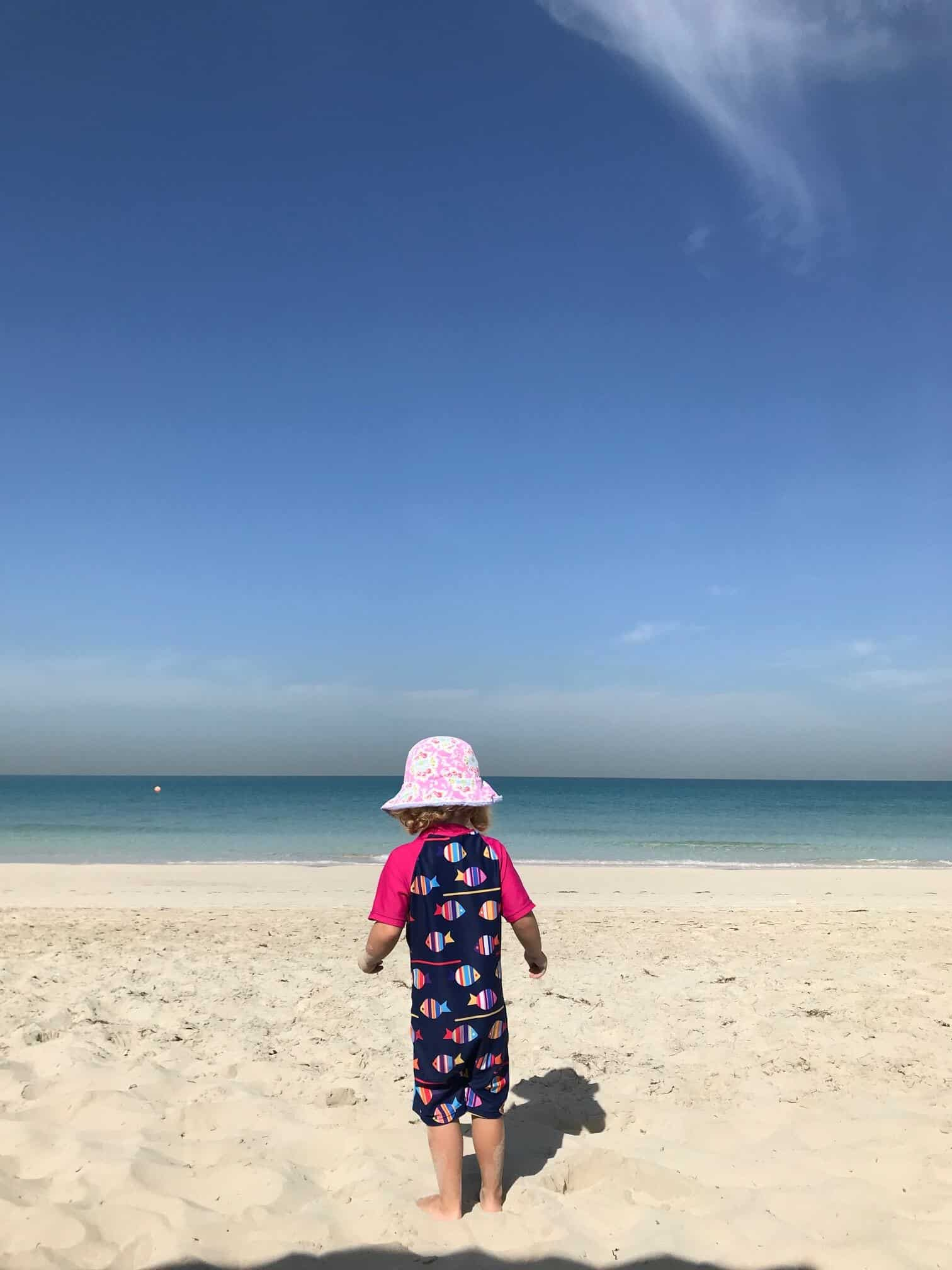 Best Beaches in Abu Dhabi with kids