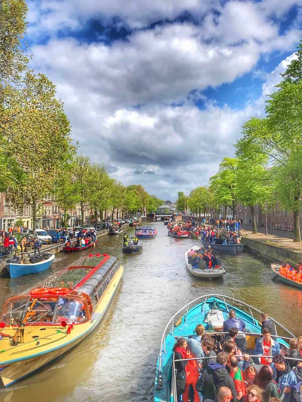 Visiting Amsterdam in April and Celebrating Kings Day in Amsterdam