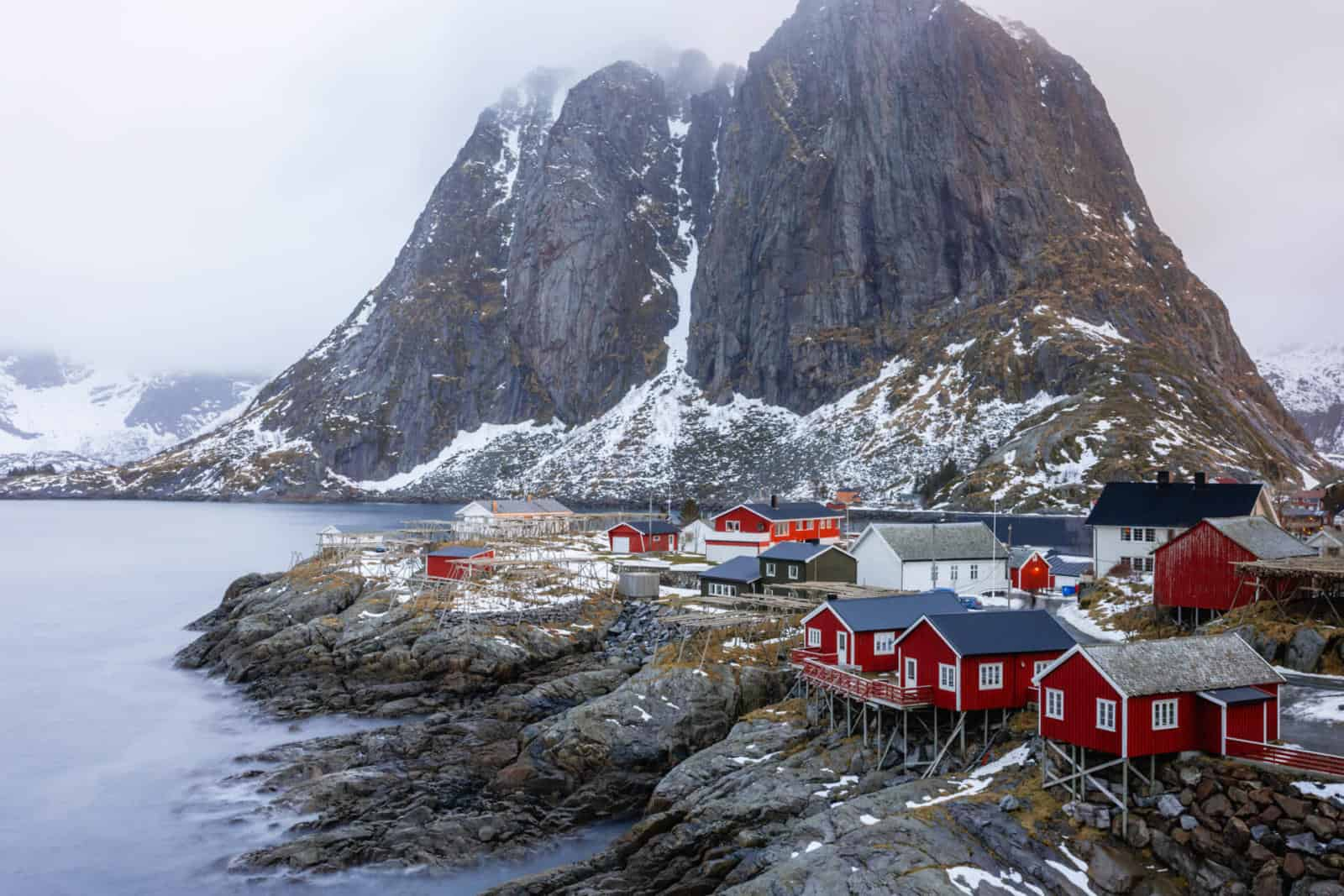 Best places to go in Europe in March - Lofoten Islands in March