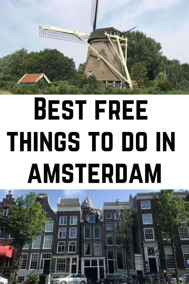 Best Free Things to do in Amsterdam - Amsterdam Budget Itinerary