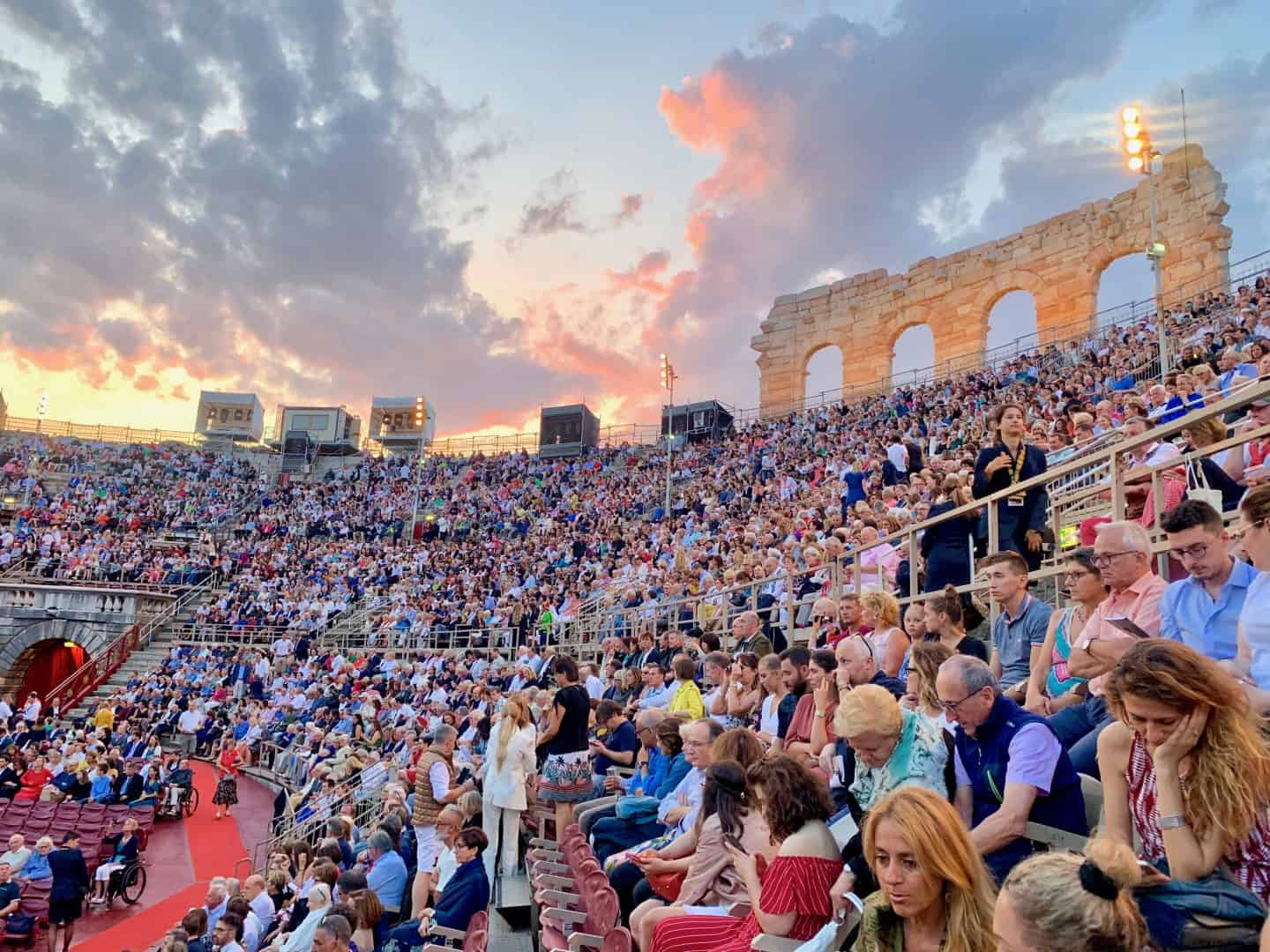 Opera in Verona - one of the best things to do in Italy
