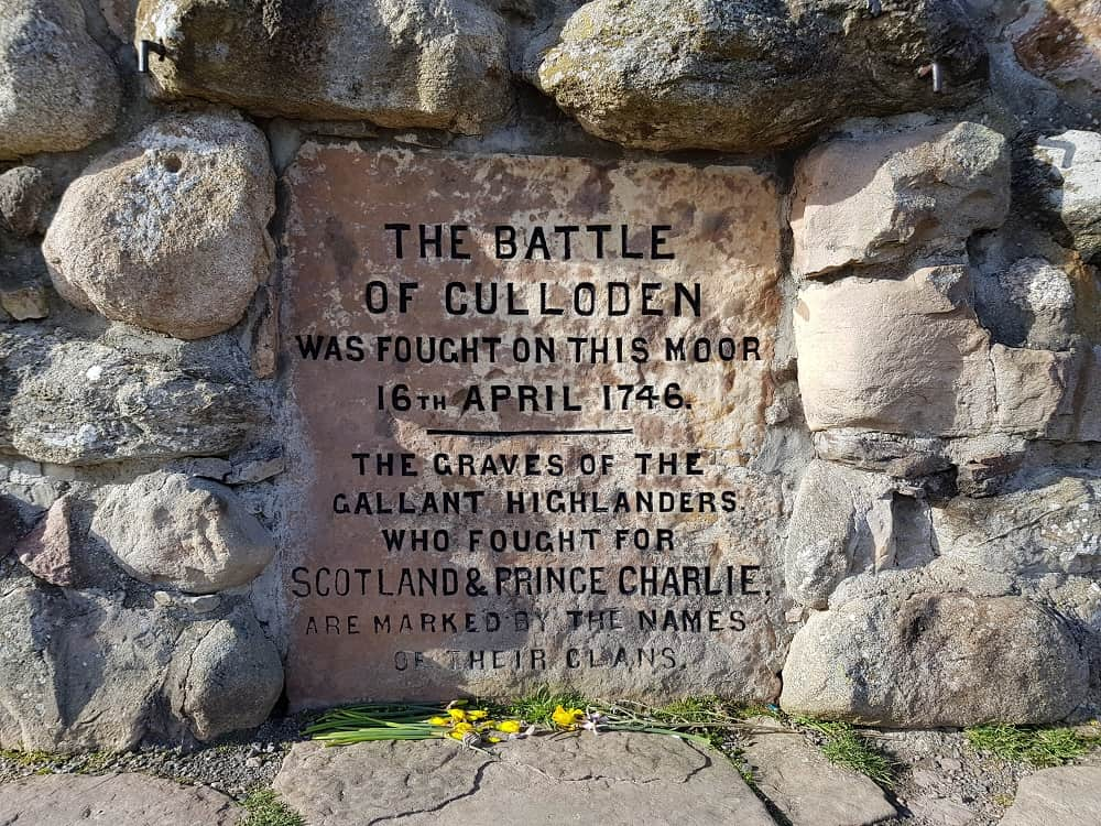 Special Events in Europe in April - Culloden