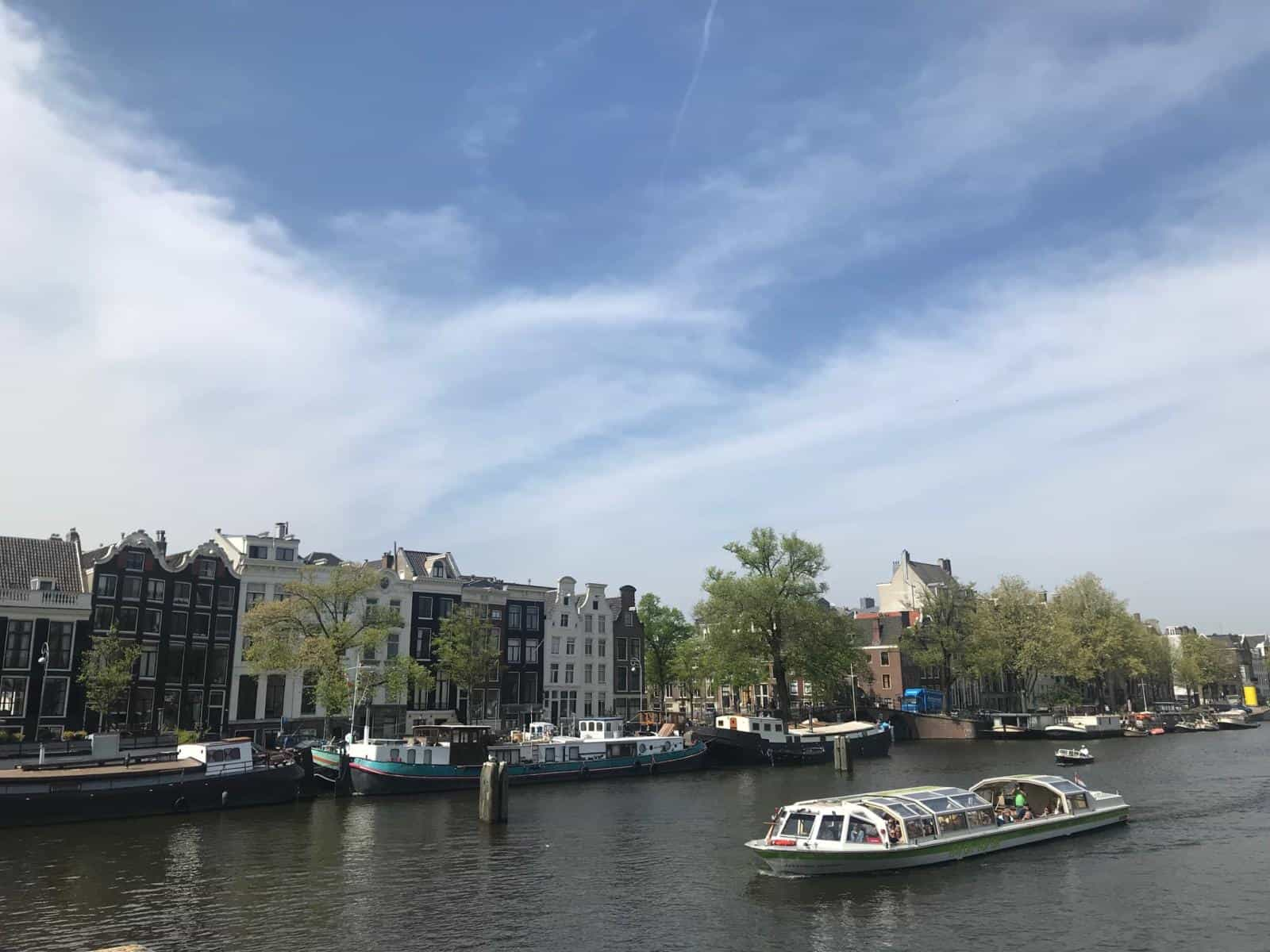 Best things to do in Amsterdam in the rain - a canal tour