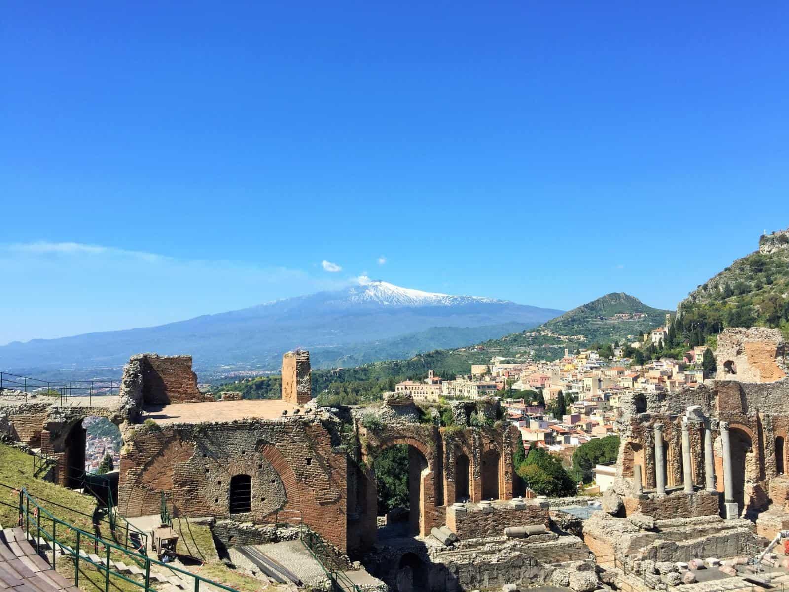 Visiting Europe in April - Taormina