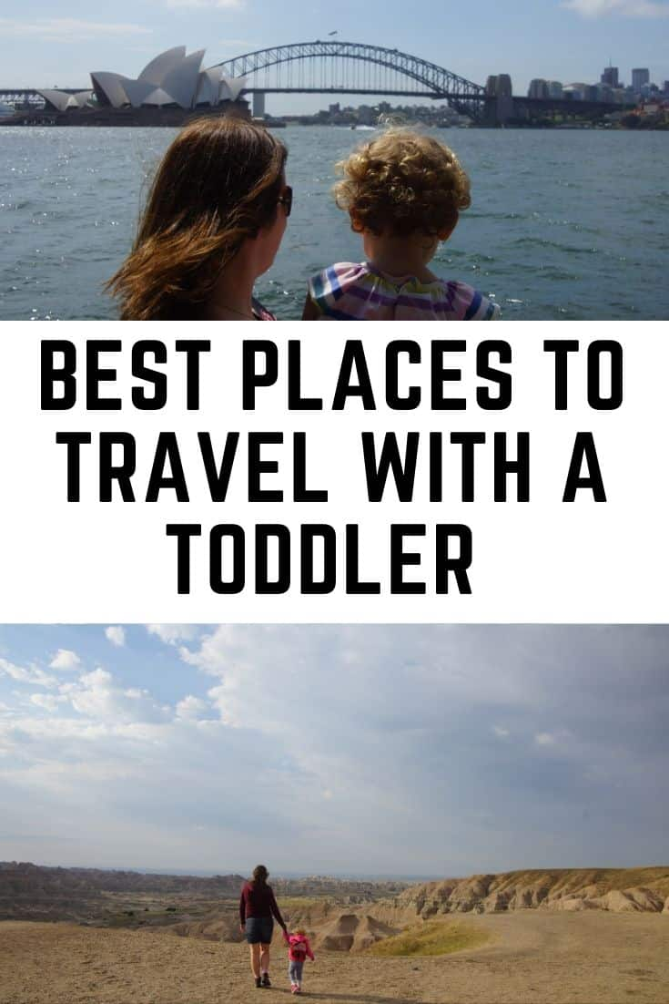 Best places to travel with a toddler around the world