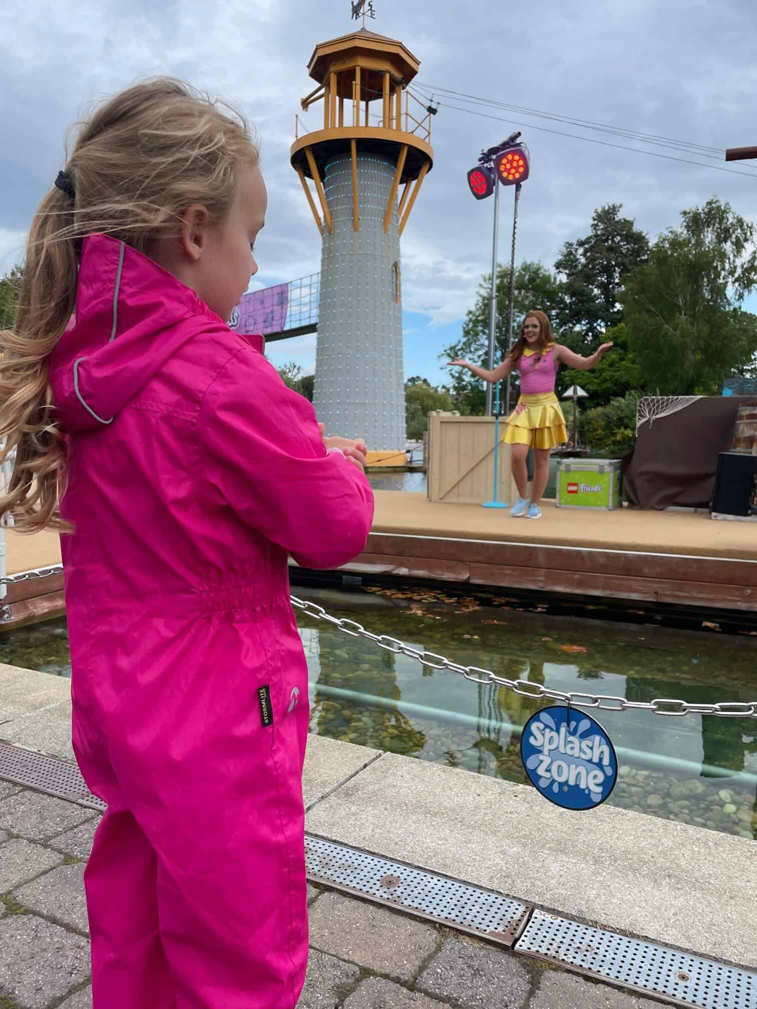 What to do at Legoland Windsor with kids - the shows
