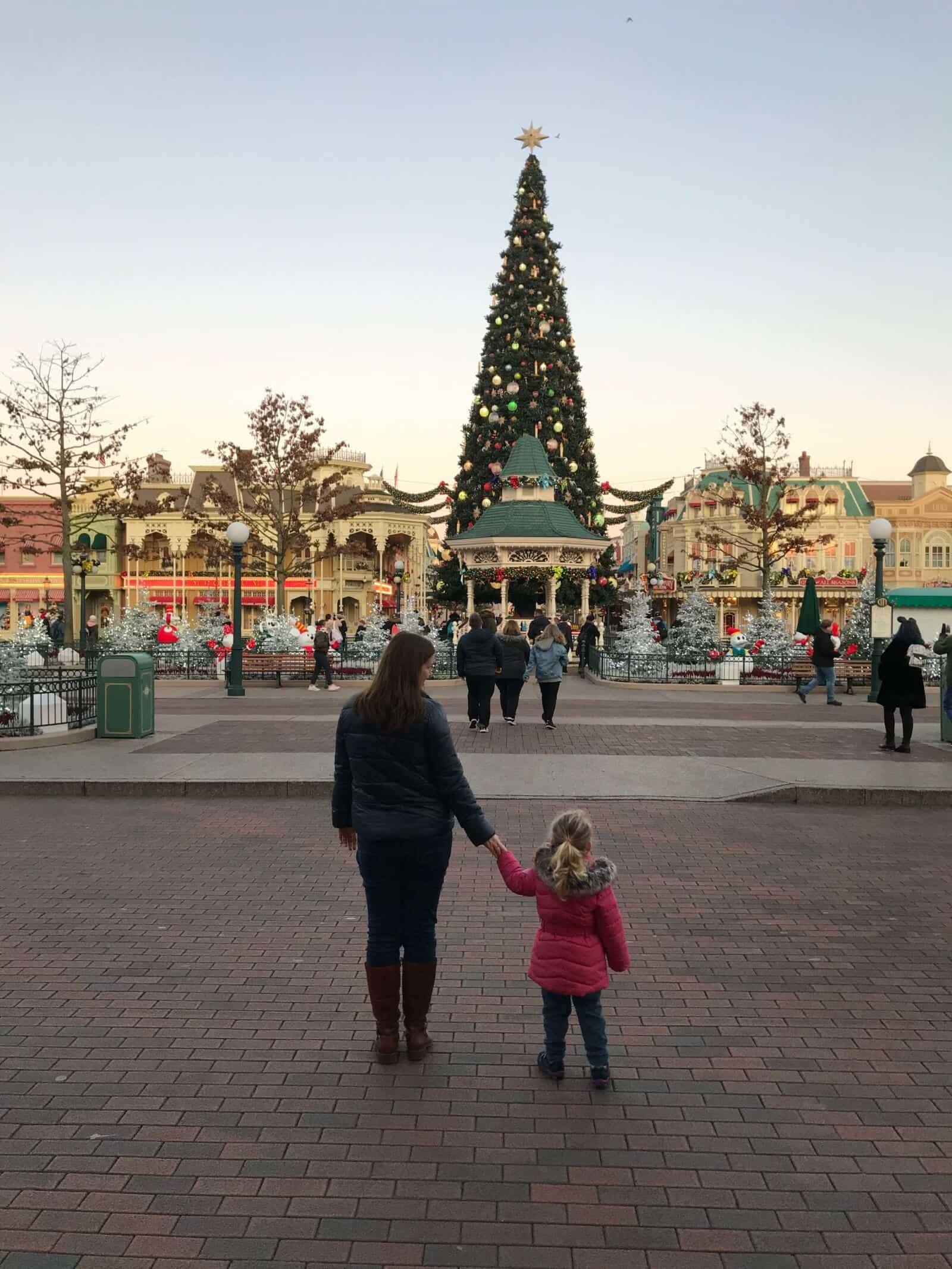 Visiting Disneyland Paris is December